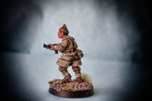 British Commandos,28mm metallo Artizan Design,pittura giallinovagabondo