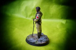 Pilota Kamikaze World War II, miniatura  in metallo Andrea Miniatures scala 1:32 Andrea Miniatures, pittura Giallinovagabondo