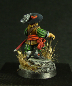 Nobile Inglese Parlamentare,Guerra civile inglese, Warlord Game 28 mm in metallo, pittura STE