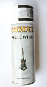 Primer spray bianco