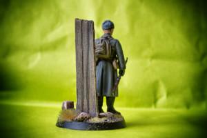 Fante Sovietico WWII,soldatino in resina Verlinden scala 1:35, pittura giallinovagabondo