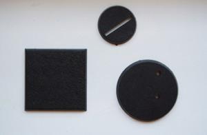 basette in plastica quadrate e tonde