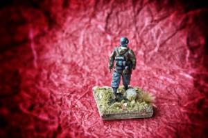 Panzergrenadiere,resina 1/72 Mig,pittura giallinovagabondo