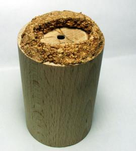 Plinto in legno e Sughero