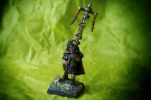 Signifer Praetorian Guard,miniature 28mm plastica Warlord Games,pittura giallinovagabondo