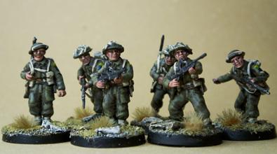 Canadian BREN LMG Infantry Squad