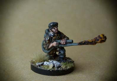 Flamethrower German Fallschirmjäger