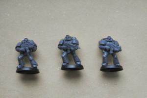 Space Marines, miniature in plastica 28mm Games Workshop
