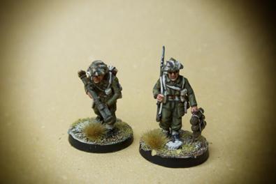 Canadian Army – Mortar & Piat team