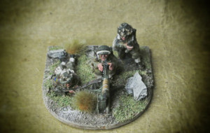 Canadian Army,Vickers MMG Team,Warlord Games,28mm metallo,pittura giallinovagabondo