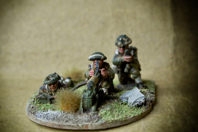 Canadian Army – Vickers MMG Team