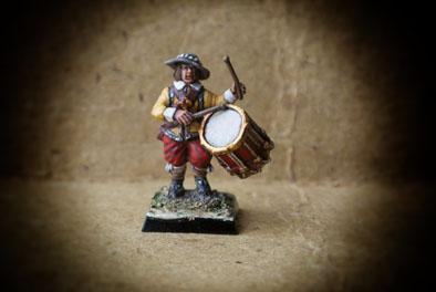 Drummer Red Regiment – Gustavus Adolphus Infantry