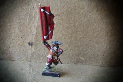 Standard Bearer Red Regiment – Gustavus Adolphus Infantry