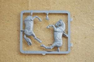 Cavallo in plastica scala 28mm, Games Workshop