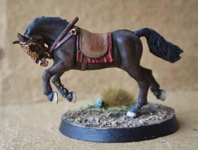 Dipingere un Cavallo – Parte Seconda
