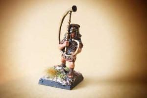 Musician Legionari Romani Veterani, miniature in plastica 28mm Warlord Games,pittura giallinovagabondo