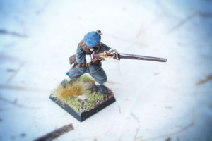 Moschettiere Scots Covenanters, 28mm Warlord Games,pittura giallinovagabondo