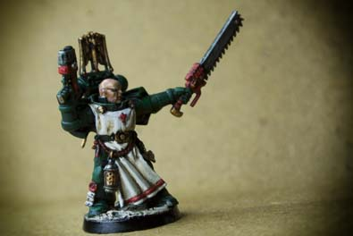 Sergente Veterano dei Dark Angels Space Marines