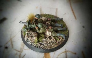 Soviet Machine Gun Maxim Team, miniature plastica Zvezda scala 1/72, pittura giallinovagabondo