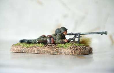 Soviet Anti Tank Rifle Team