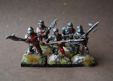 English Billmen War of Roses