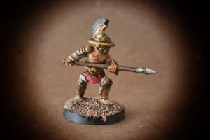 Hoplomacus miniatura metallo 28mm Crusader Miniatures,pittura giallinovagabondo