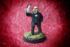 dottor Jekyll,miniatura 28mm metallo,Wargames Foundry,pittura giallinovagabondo