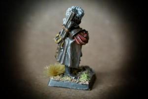 Mastro Ingegnere Imperiale,miniatura metallo 28mm Games Workshop,pittura giallinovagabondo