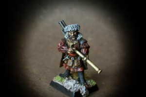 Mastro Ingegnere Imperiale,miniatura metallo 28mm Games Workshop,pittura giallinovagabondo