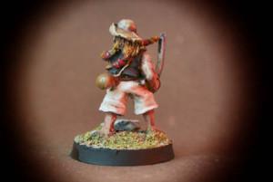 Pirata,miniatura metallo 25mm Wargames Foundry,pittura giallinovagabondo