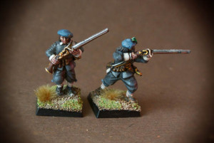 Moschettieri Scots Covenanters, 28mm Warlord Games,pittura giallinovagabondo