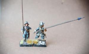 Picchieri Scots Covenanters, miniatura plastica 28mm Warlord Games,pittura giallinovagabondo