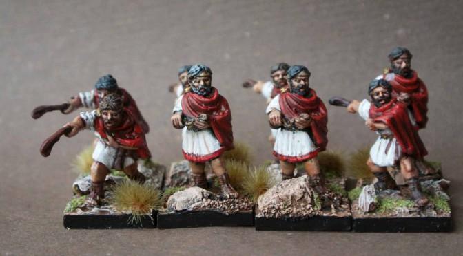 Early Imperial Romans Balearic Slingers contubernium