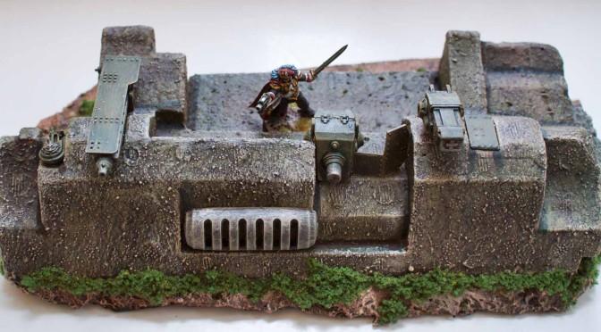 Bastione Imperiale per Warhammer 40,000 seconda parte