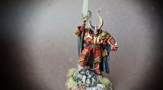 Chaos Lord /Age Of Sigmar