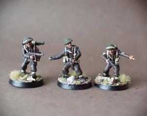 Jewish Brigade,miniature plastica 28mm,Warlord Games,pittura giallinovagabondo