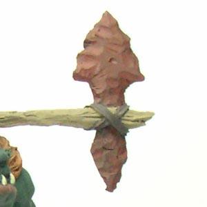 particolare arma con colori base