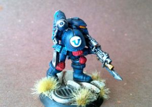Space Marines 2016,miniatura in 28mm, plastica,Games Workshop,pittura giallinovagabondo